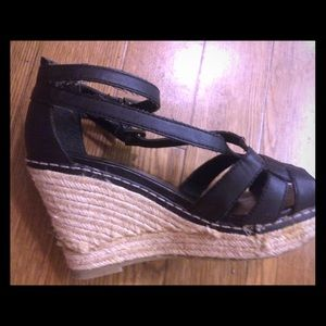 Old Navy wedge high heel with straps